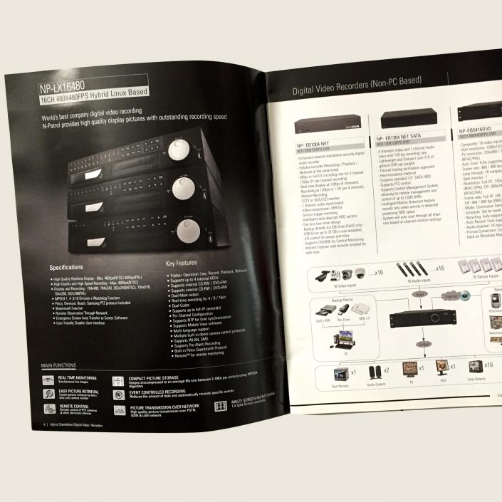 DVRs Electronics Catalog