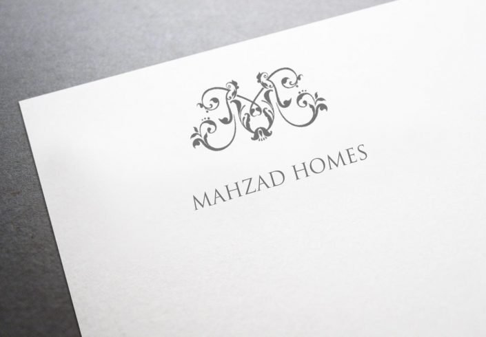 Mahzad Homes Logo Version