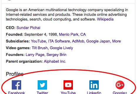 Google social